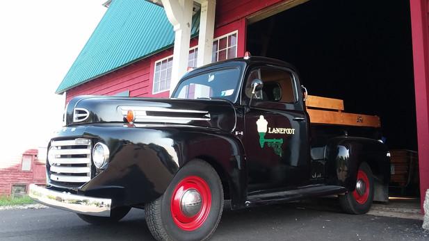 Antique Truck - Lettering