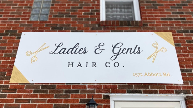Ladies & Gents Hair Co. - Exterior Sign