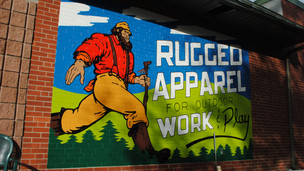 Aurora Outfitters - Mural