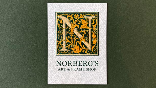 Norberg's Art & Frame Shop - Logo