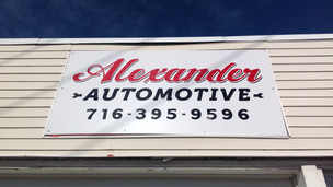 Alexander Automotive - Exterior Sign