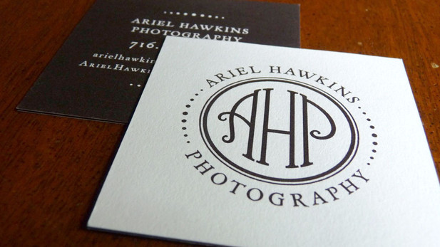 Ariel Hawkins Photography - Business Card