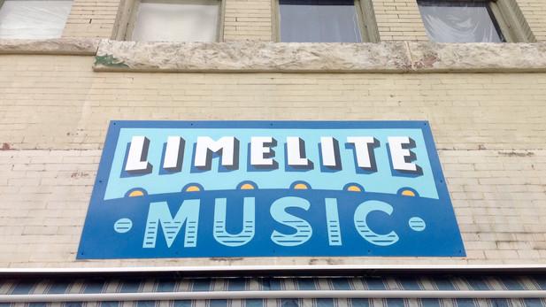 Limelite Music - Exterior Sign