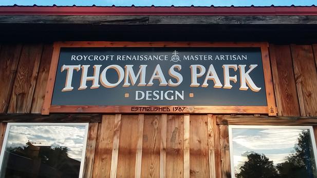 Thomas Pafk Design - Exterior Sign