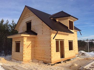 дом в Иркутске из проф бруса