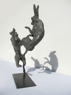 Boxing Hares