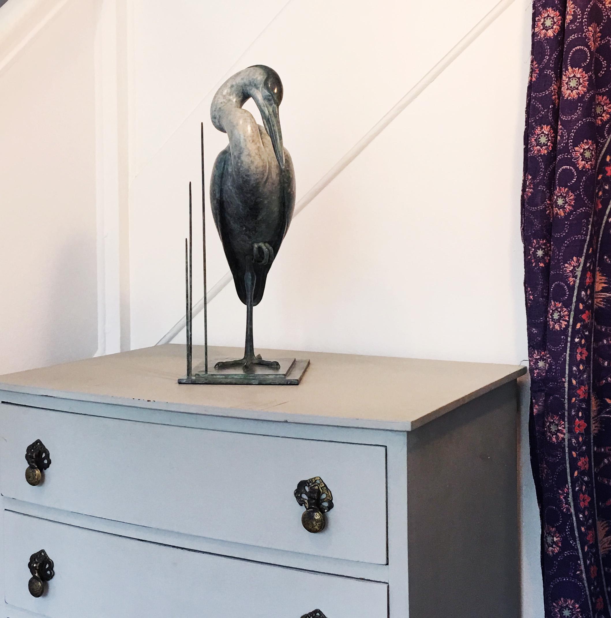 Small Heron Sophie Louise White 6