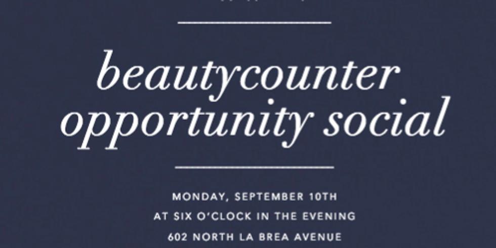 Beautycounter Opportunity Social