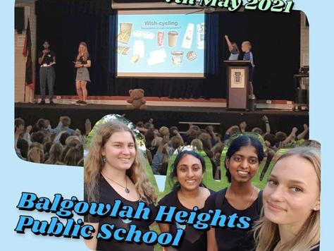 May-August School Talks