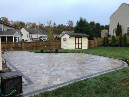 Maryland Paver Patio Project
