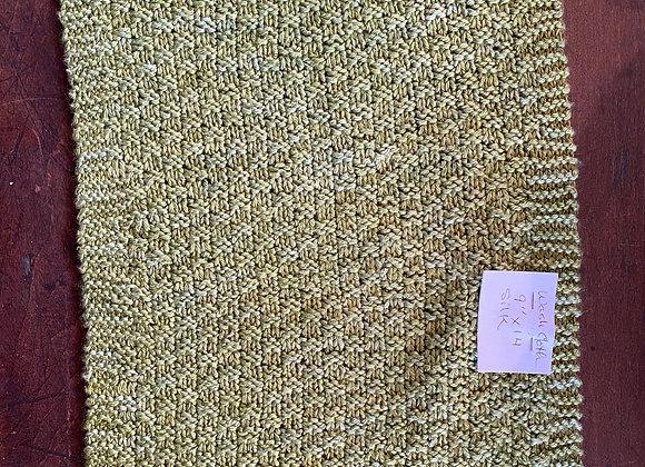 9x14 Handmade Silk and Wool Wash Cloth