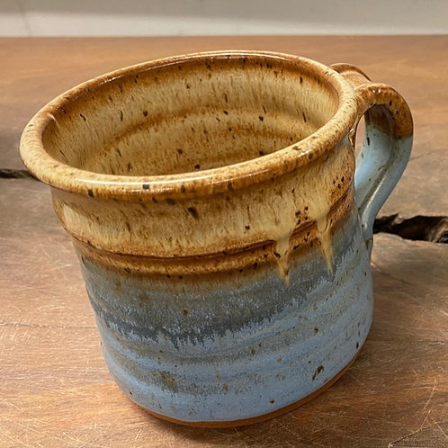 Single Handmade  Stoneware Drinking Mug (14 oz)