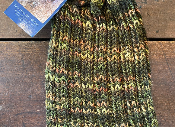 Hand Knit Wool Hat-2