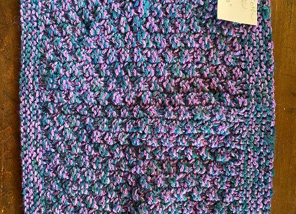 10 x 13 Handmade Silk and Wool Wash Cloth
