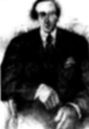 El Hombre de la Corbata - Dibujo Carbonc