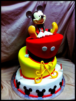 mickey+cake