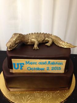 UF trophy cake