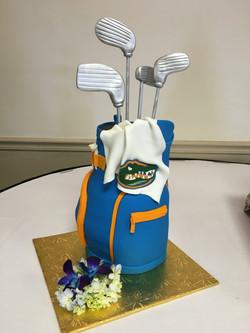 Golf Bag grooms cake