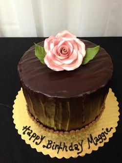 Flower bday cake