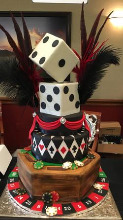 Viva Las Vegas Cake
