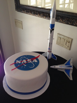 Nasa Grooms Cake