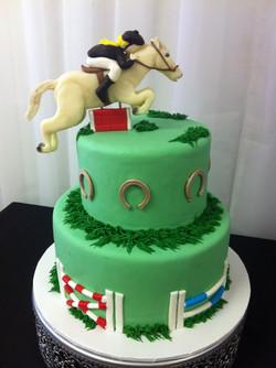 Jockey bday cake