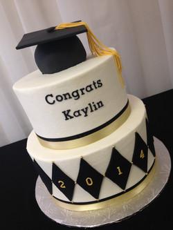 Black and Gold Graduation