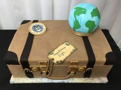 Vintage Suitcase Cake