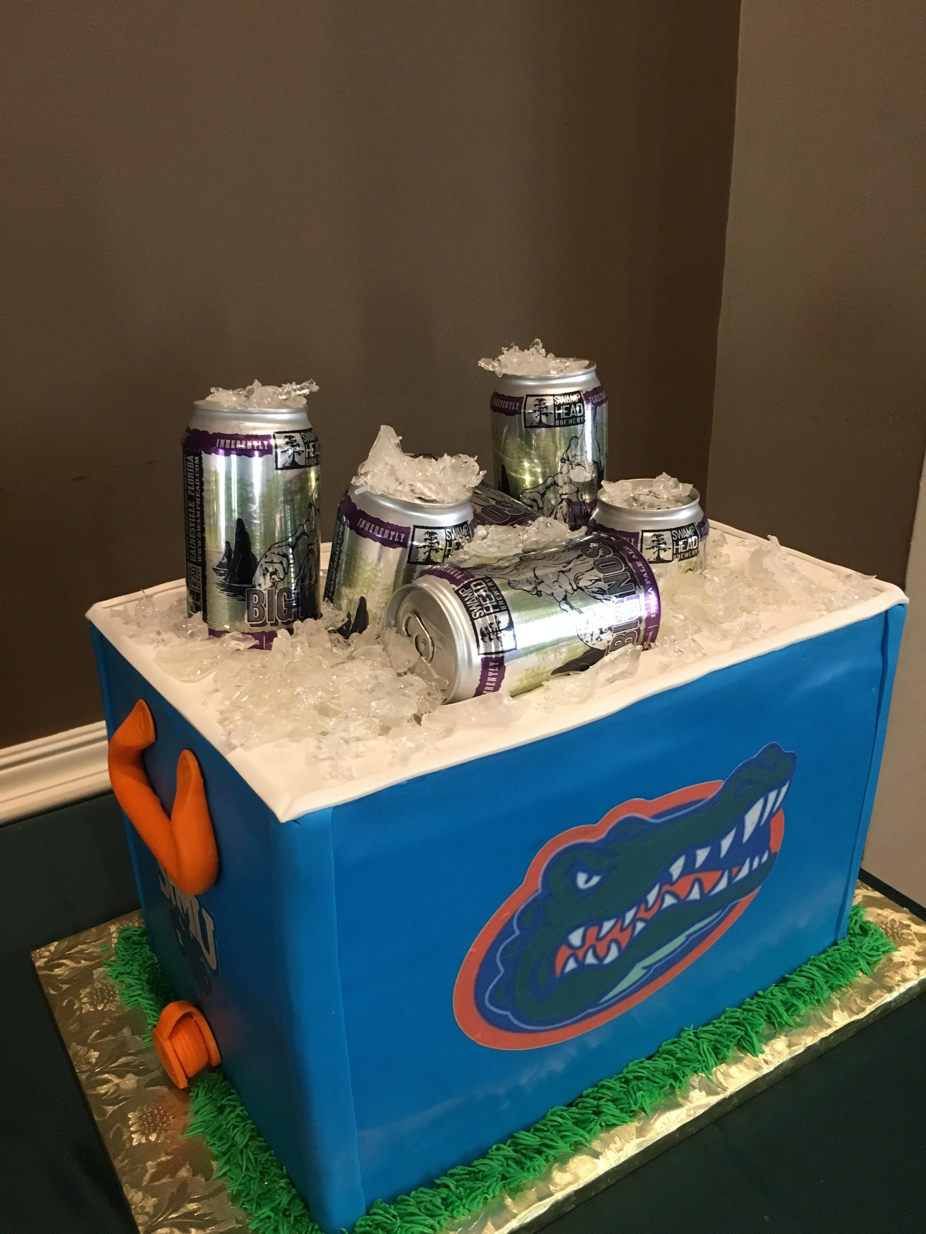 Gator Grooms Cake