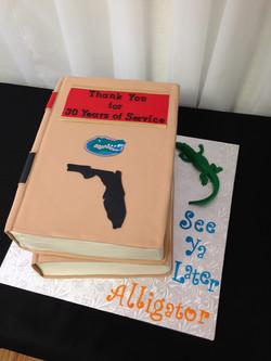 UF retirement cake