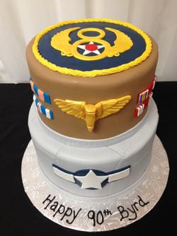 WWII Veterans Cake