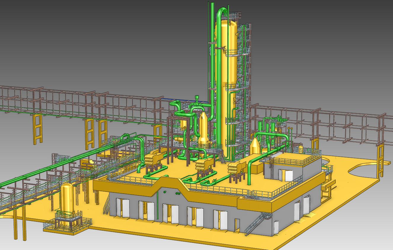 3D - проектирование производств