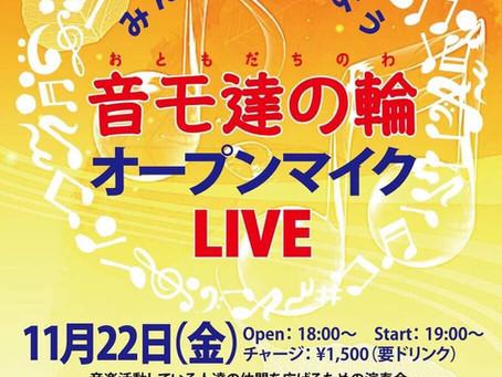 11月のライブ♪2019