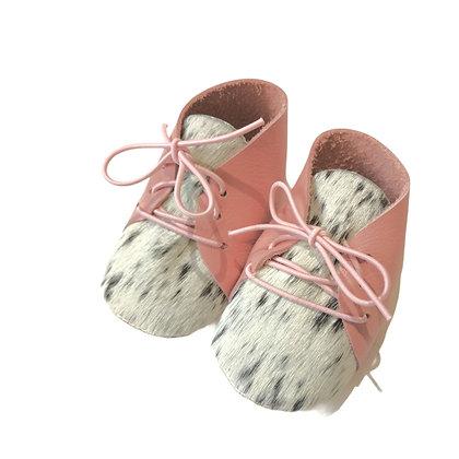 chausson bébé or et argent