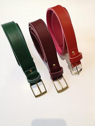 Commande speciale ALIX ceintures et portefeuille