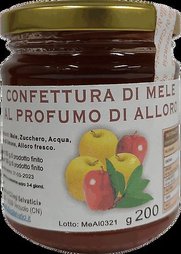 Confettura di mele e alloro