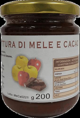 Confettura di mele e cacao