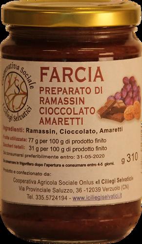 Farcia - Preparato di ramassin, cioccolato e amaretti