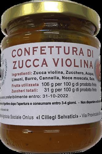 Confettura di zucca violina