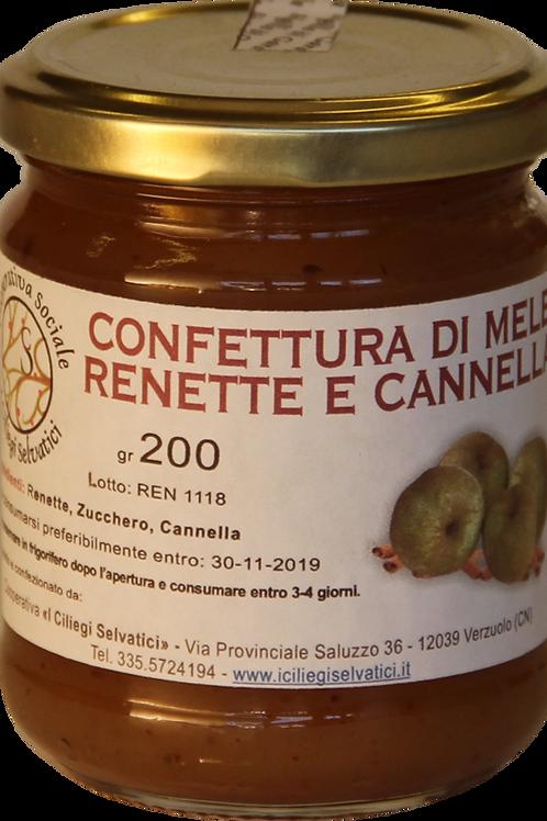 Confettura di mele renette e cannella