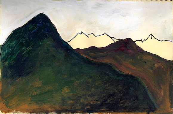 Mountains 4  - View from Shama