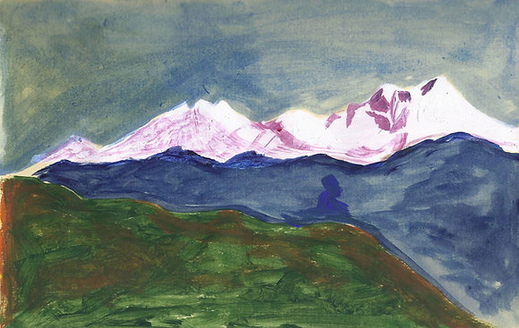 Mountains 3 - View from Shama