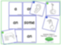 ESL Grammar Game - a - an - some and nouns