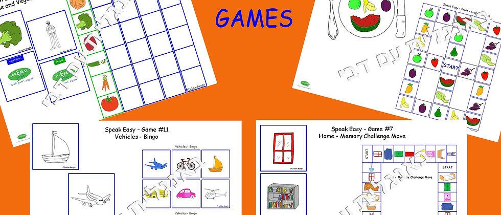 Speak Easy - Set of 13 Games