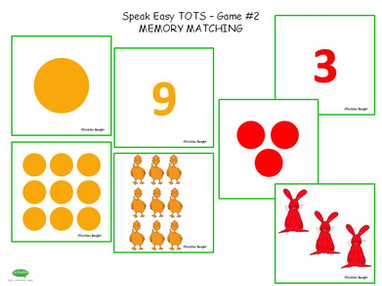 ESL Speak Easy Tots - Game 2