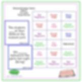 Advanced Grammar Game #5 Four in a Row - Tenses Review