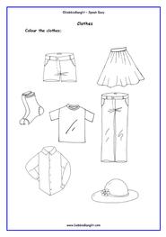 ESL Easy Read Tots - Clothes