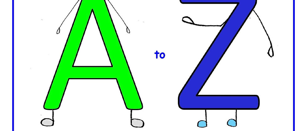 A to Z for Me and You - Workbook