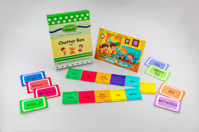 DebbieBAnglit - ESL  Picture and Card Game - Chatter Box