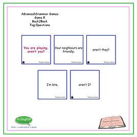 Advanced Grammar Game #8 Back2Back Tag Questions